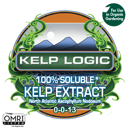Kelp Logic 100% Soluble for Organic Gardening